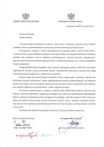 List Głównego Inspektora Sanitarnego i Komendanta Głównego Policji do rodziców-1